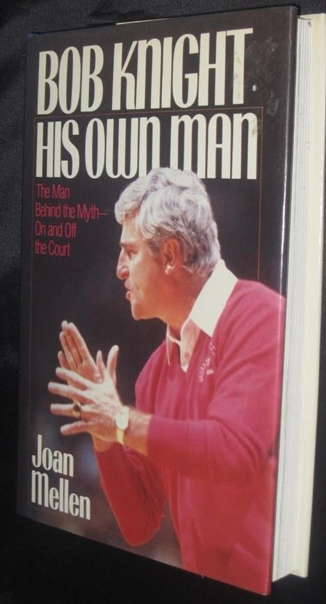 Bob Knight His Own Man, Hardback Book - Vintage Indy Sports