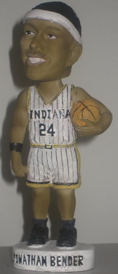 Jonathan Bender Bobblehead, 2002 Indiana Pacers SGA - Vintage Indy Sports