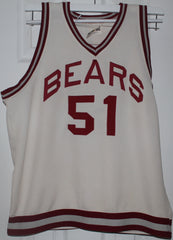 1970's Steve Risley Lawrence Central, Indiana High School Game Used Basketball Jersey