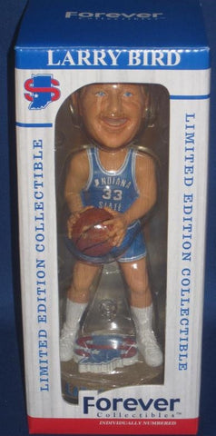Larry Bird Indiana State University Limited Edition Bobblehead, New In Box!
