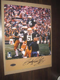 Rudy Ruettiger Notre Dame Carry Off Autographed 8x10 Photo - Vintage Indy Sports