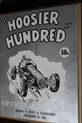 1956 Hoosier Hundred Race Program - Vintage Indy Sports