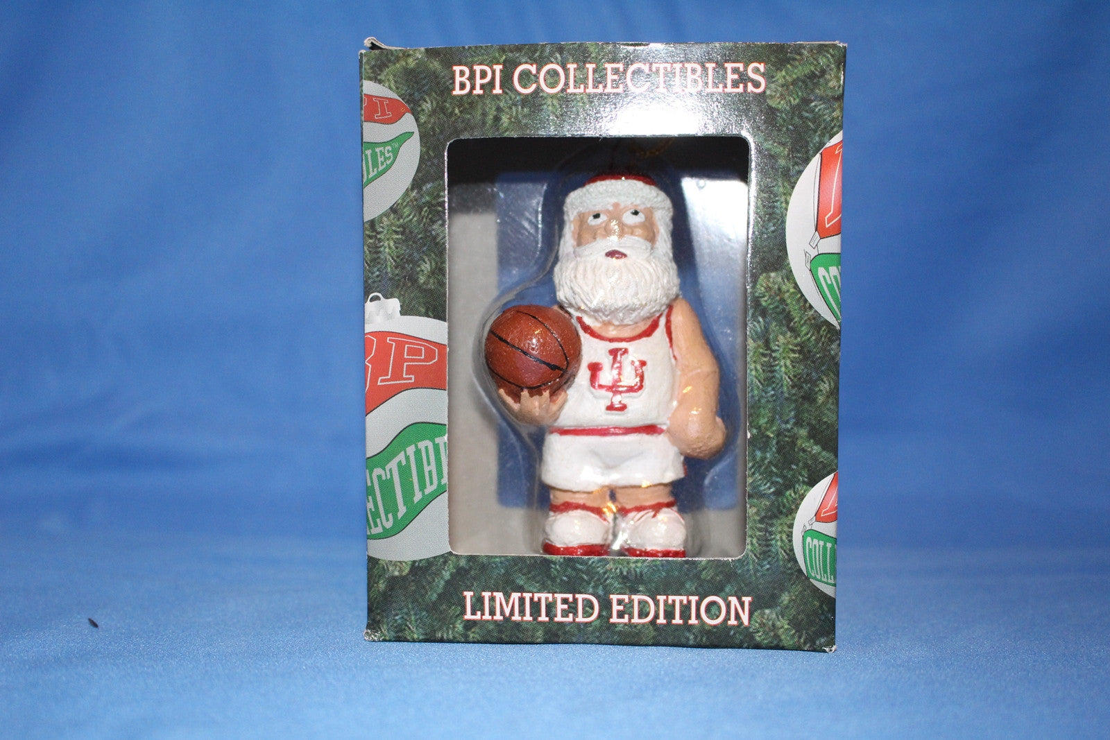 Indiana University Limited Edition Santa Ornament - Vintage Indy Sports