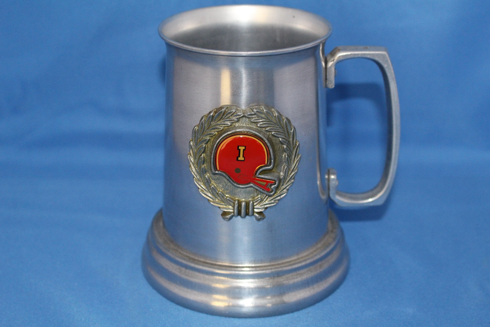 Vintage 1970's Indiana University Football Metal Stein - Vintage Indy Sports