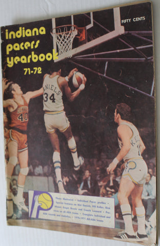 1971-72 Indiana Pacers ABA Yearbook