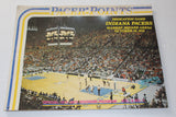 1974 Indiana Pacers vs San Antonio Spurs ABA MSA Dedication Game Program - Vintage Indy Sports