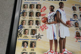 2006 Indiana High School Basketball All Star Team Autographed Poster