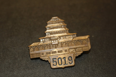 1949 Indianapolis 500 Pit Badge #5019