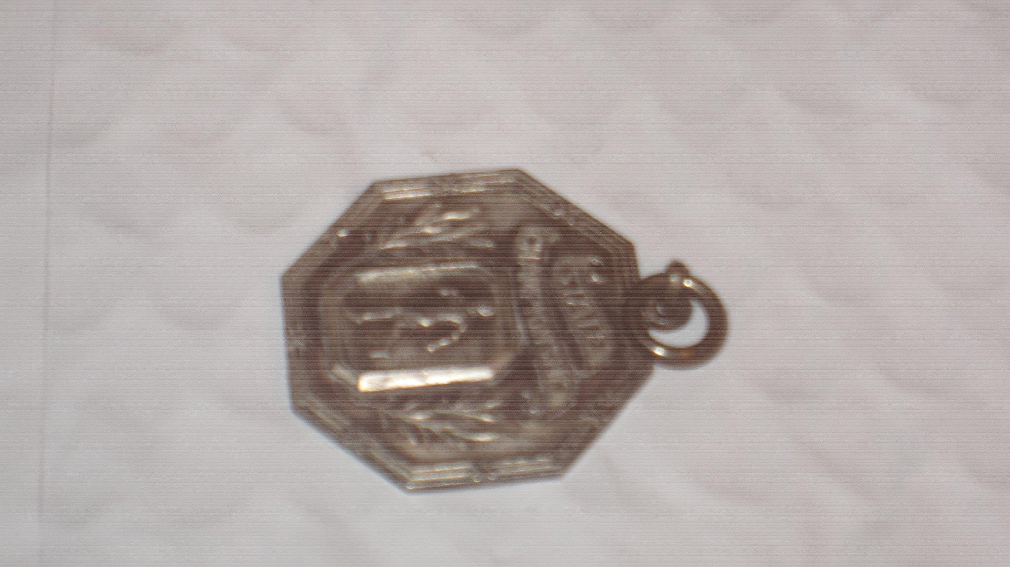 1925 Indiana High School Track & Field State Championship Medal - Vintage Indy Sports