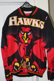 Alan Hendeson Atlanta Hawks Game Used Warm Up Suit - Vintage Indy Sports