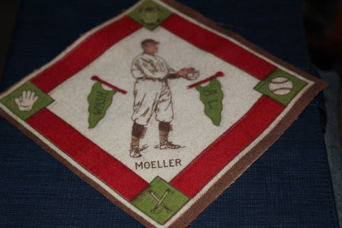 1914 Dan Moeller Washington Senators B-18 Tobacco Felt Blanket