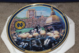"Notre Dame ""Fightin Irish"" Bradford Exchange Plate"