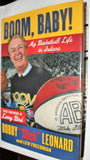 Boom, Baby My Basketball Life in Indiana Bobby Slick Leonard Hardback Book - Vintage Indy Sports