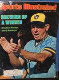 1979 George Bamberger Milwaukee Brewers Autographed Sports Illustrated Issue - Vintage Indy Sports
