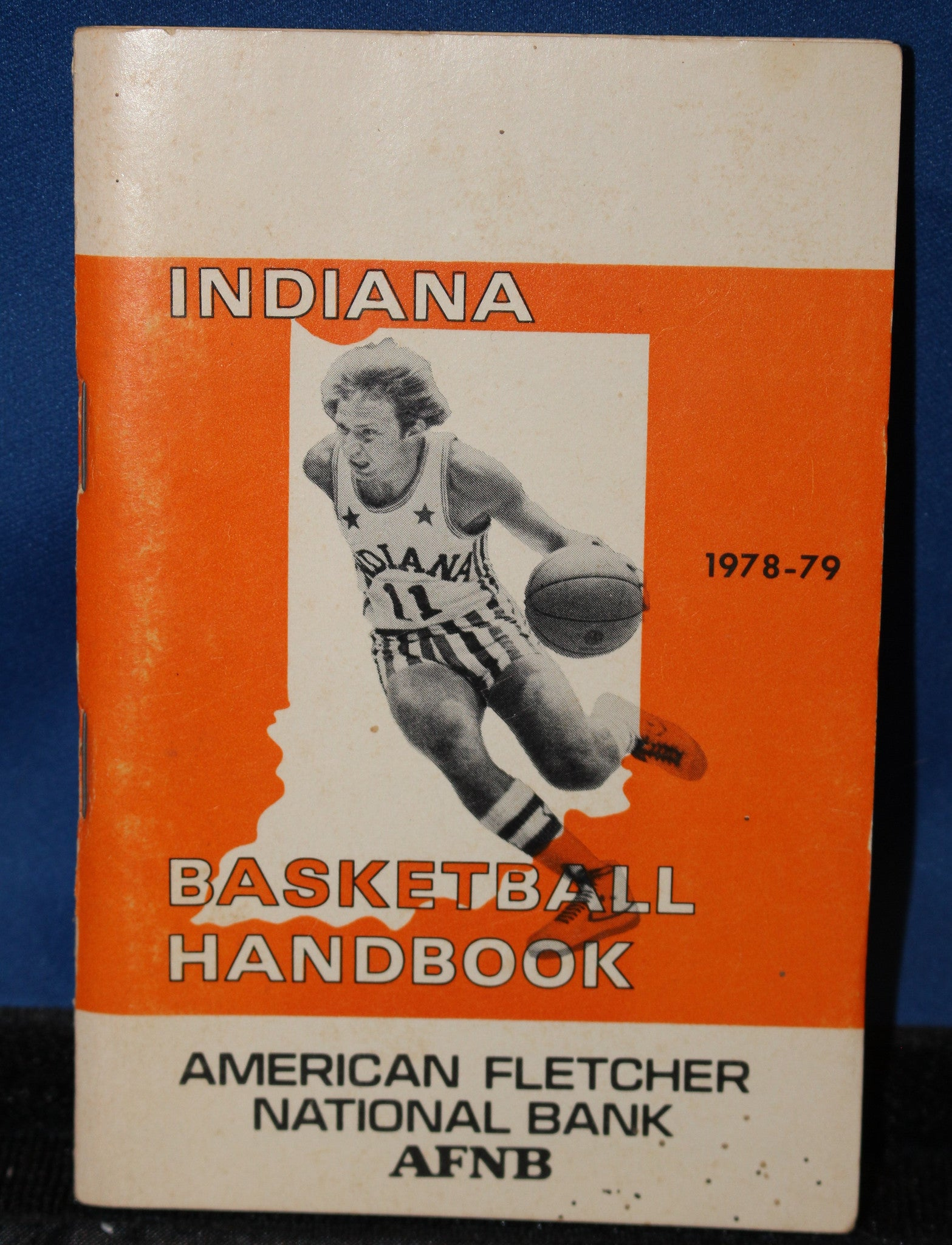1978-79 Indiana High School Basketball Handbook - Vintage Indy Sports