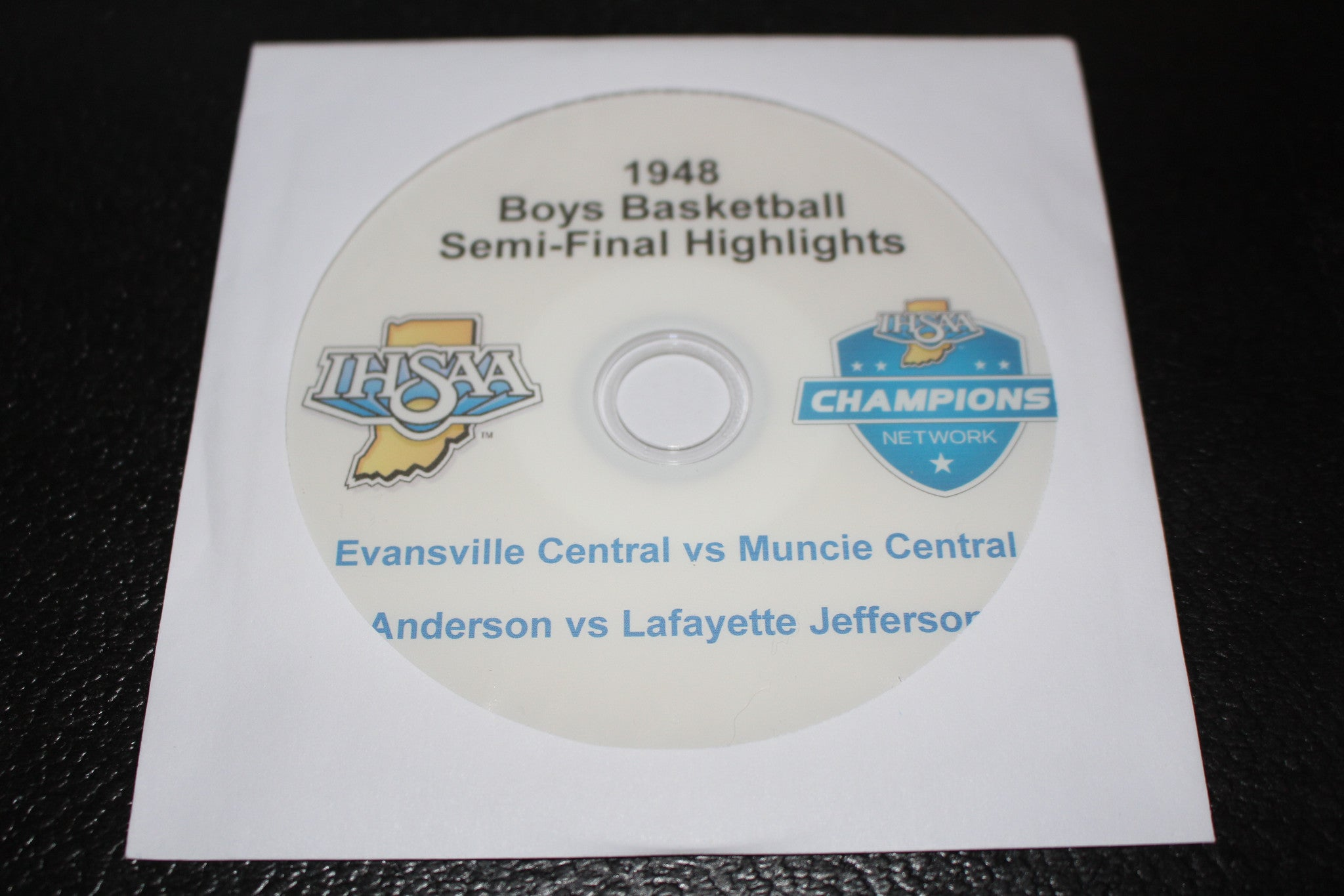 1948 Indiana High School Basketball Semi-Finals Highlights DVD - Vintage Indy Sports