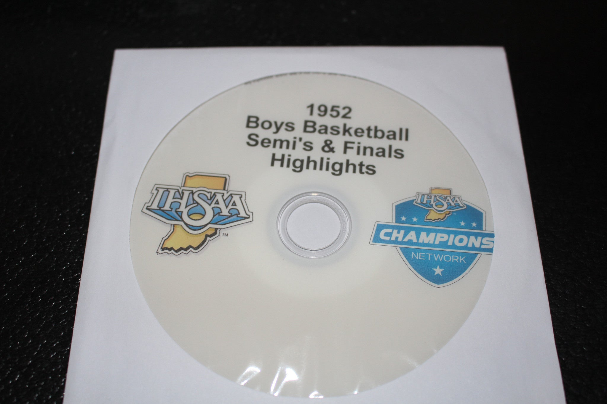 1952 Indiana High School Basketball Semi-Finals & Finals Highlights DVD - Vintage Indy Sports