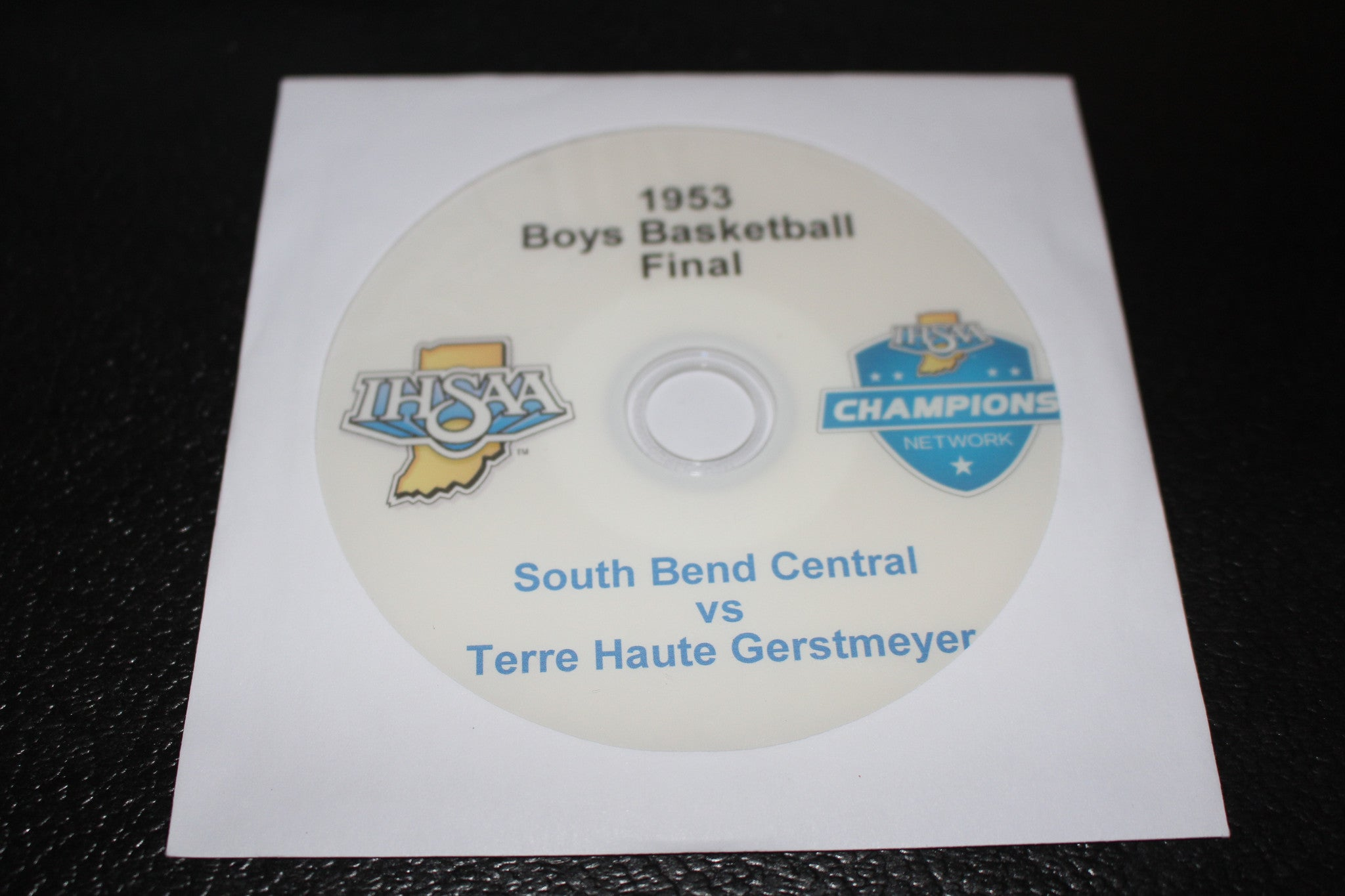 1953 Indiana High School Basketball Final DVD - Vintage Indy Sports