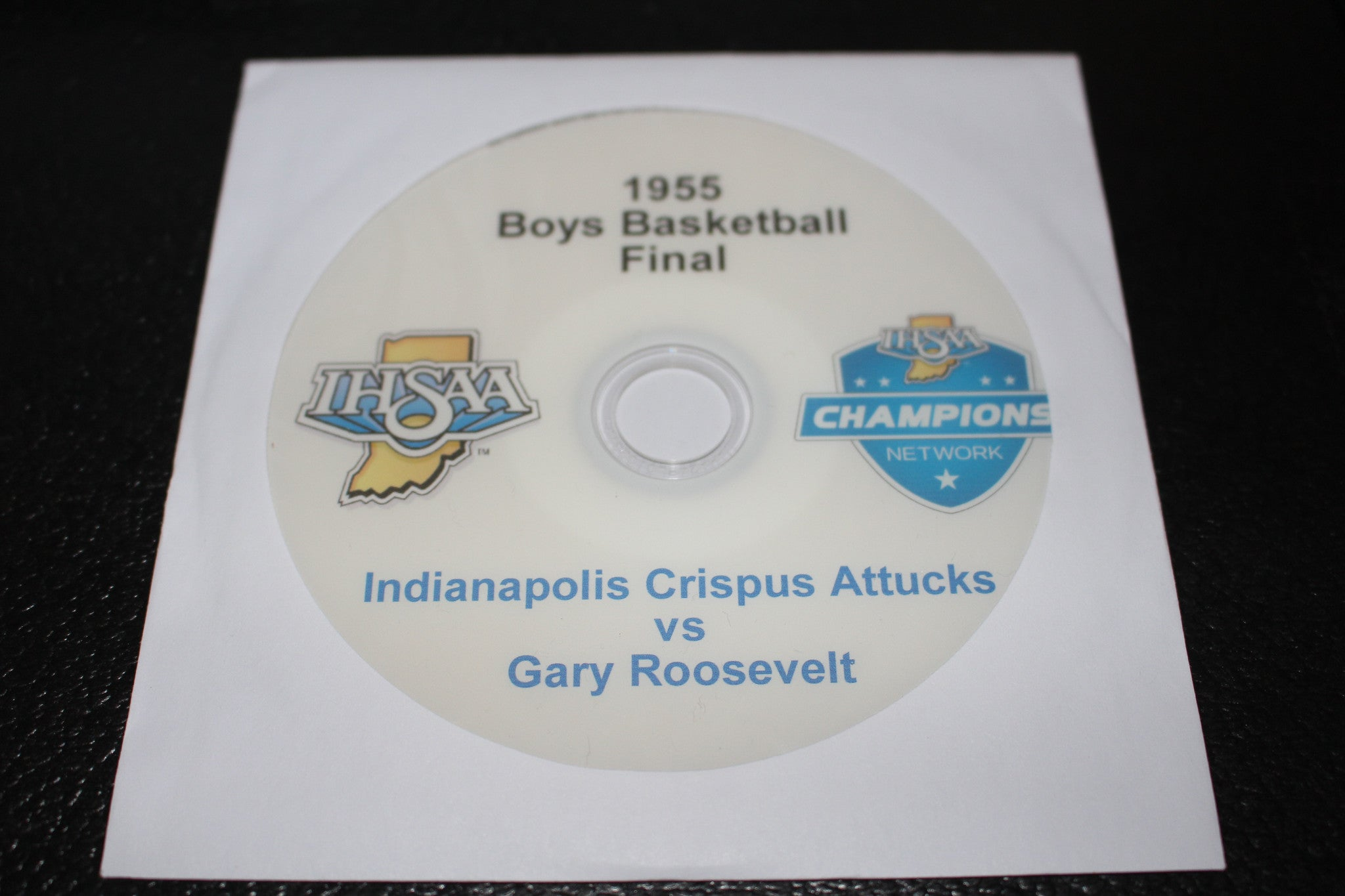 1955 Indiana High School Basketball Final DVD - Vintage Indy Sports