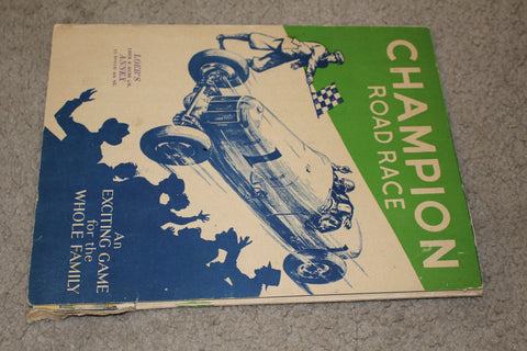 Vintage 1934 Champion Road Race Board Game
