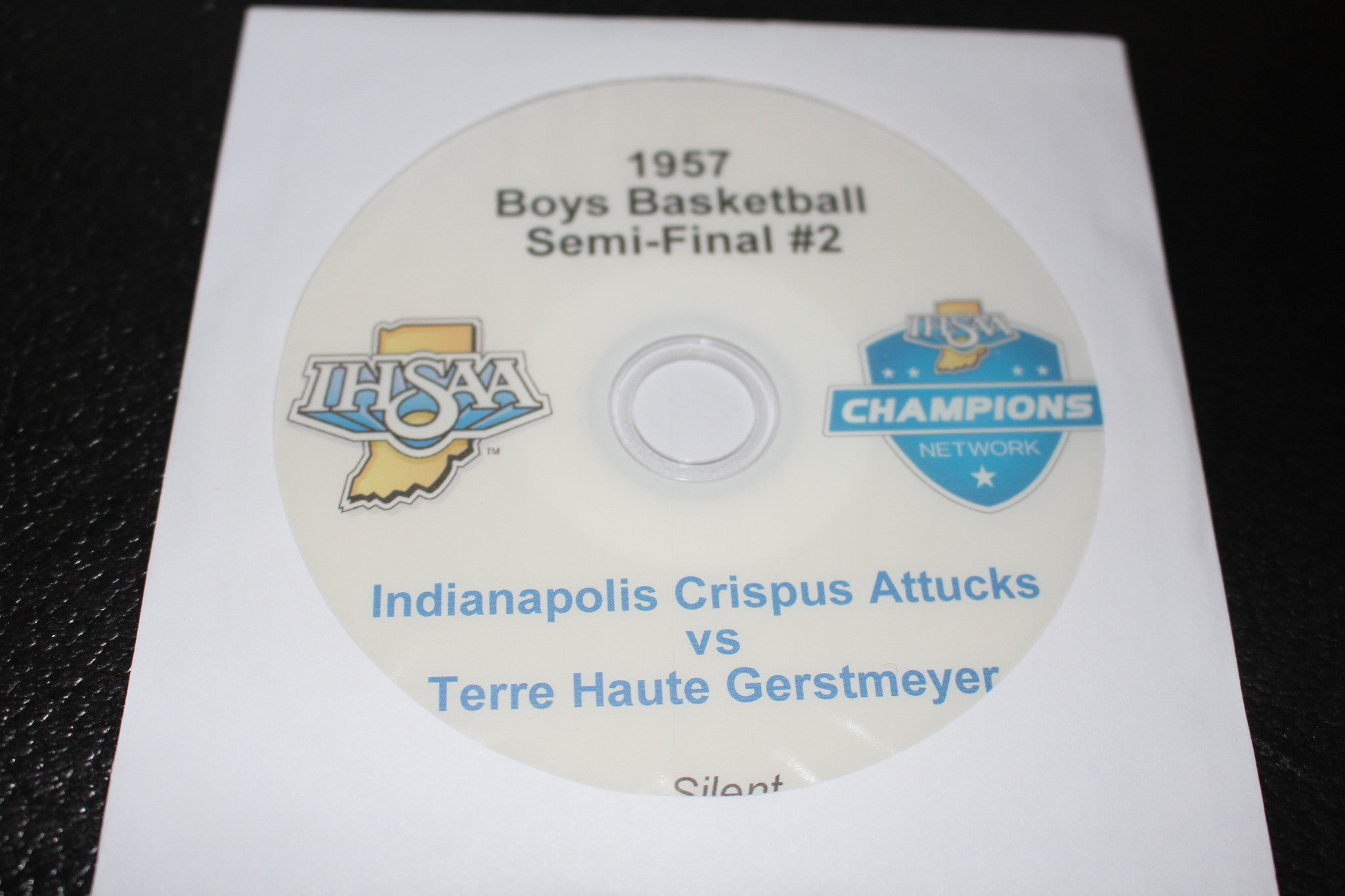 1957 Indiana High School Basketball Semi-Final #2 DVD - Vintage Indy Sports