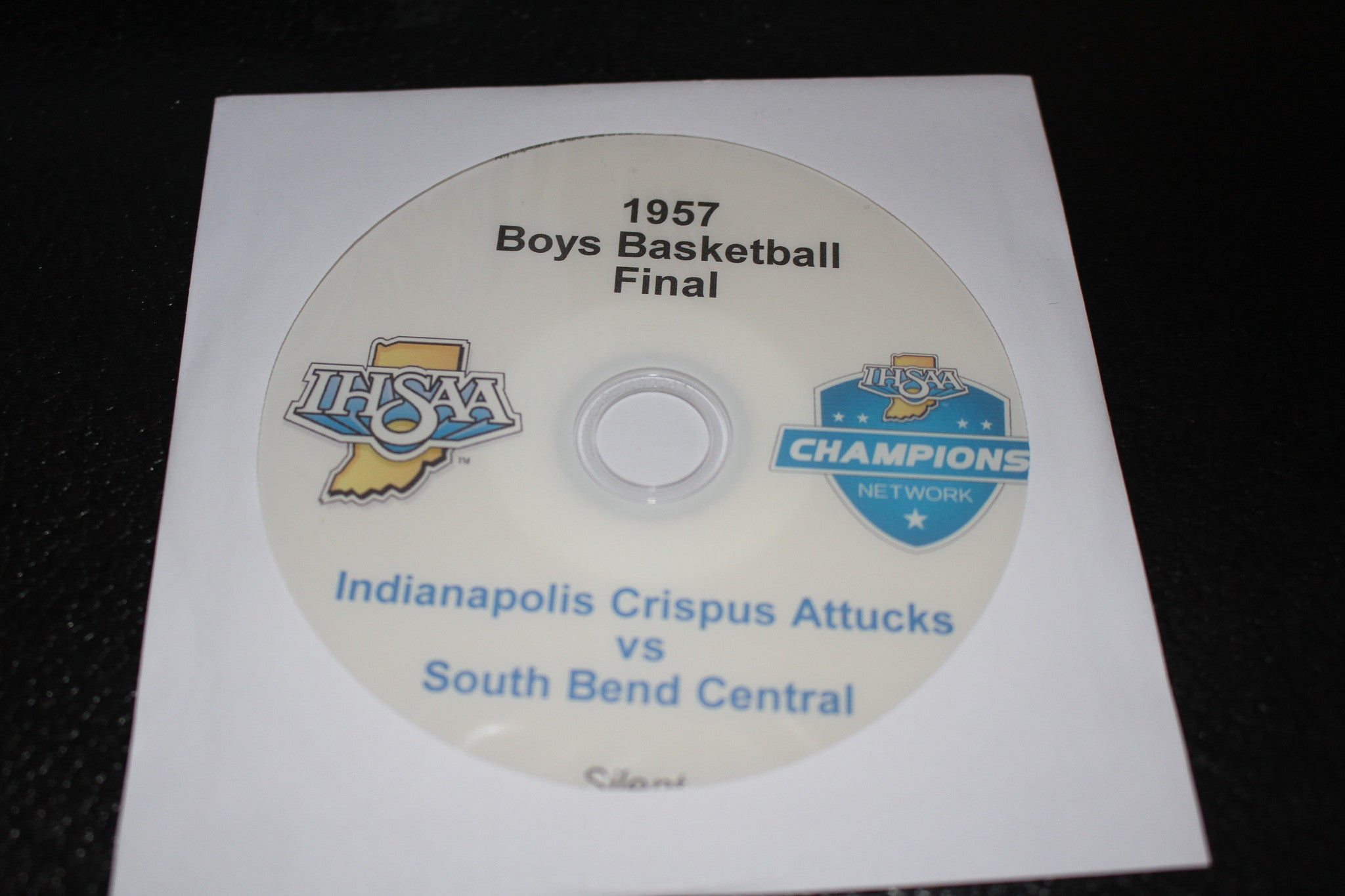 1957 Indiana High School Basketball Final DVD - Vintage Indy Sports