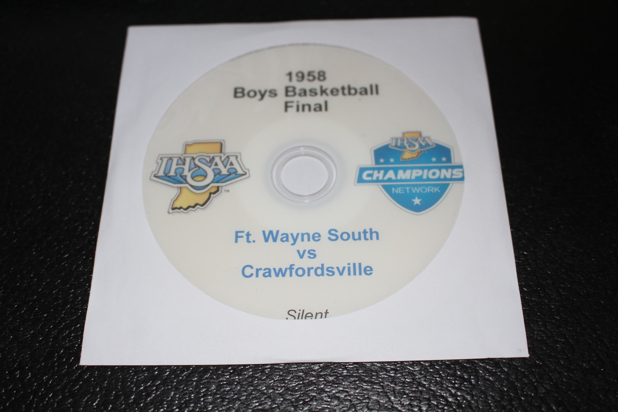 1958 Indiana High School Basketball Final DVD - Vintage Indy Sports