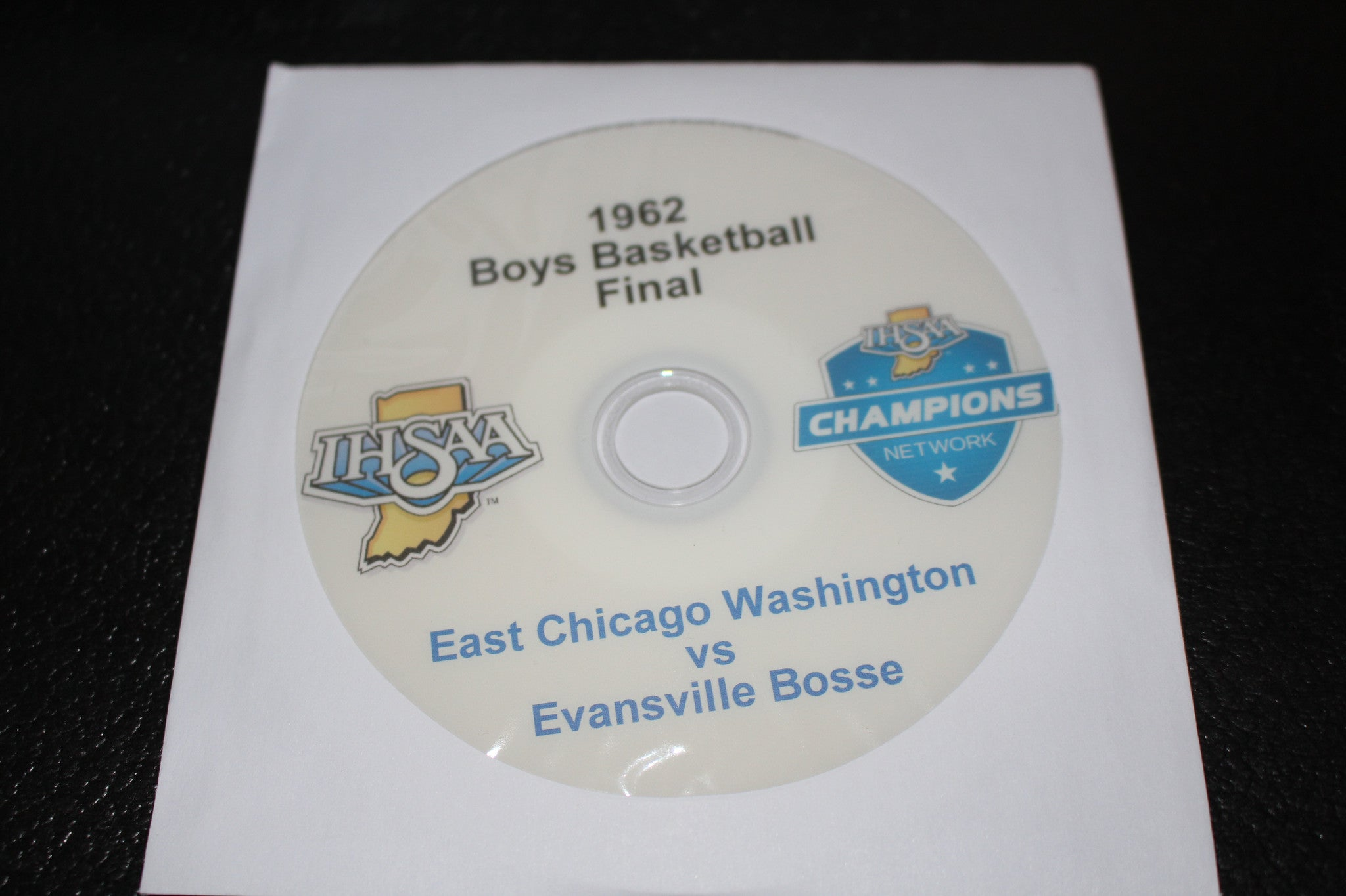 1962 Indiana High School Basketball Final DVD - Vintage Indy Sports