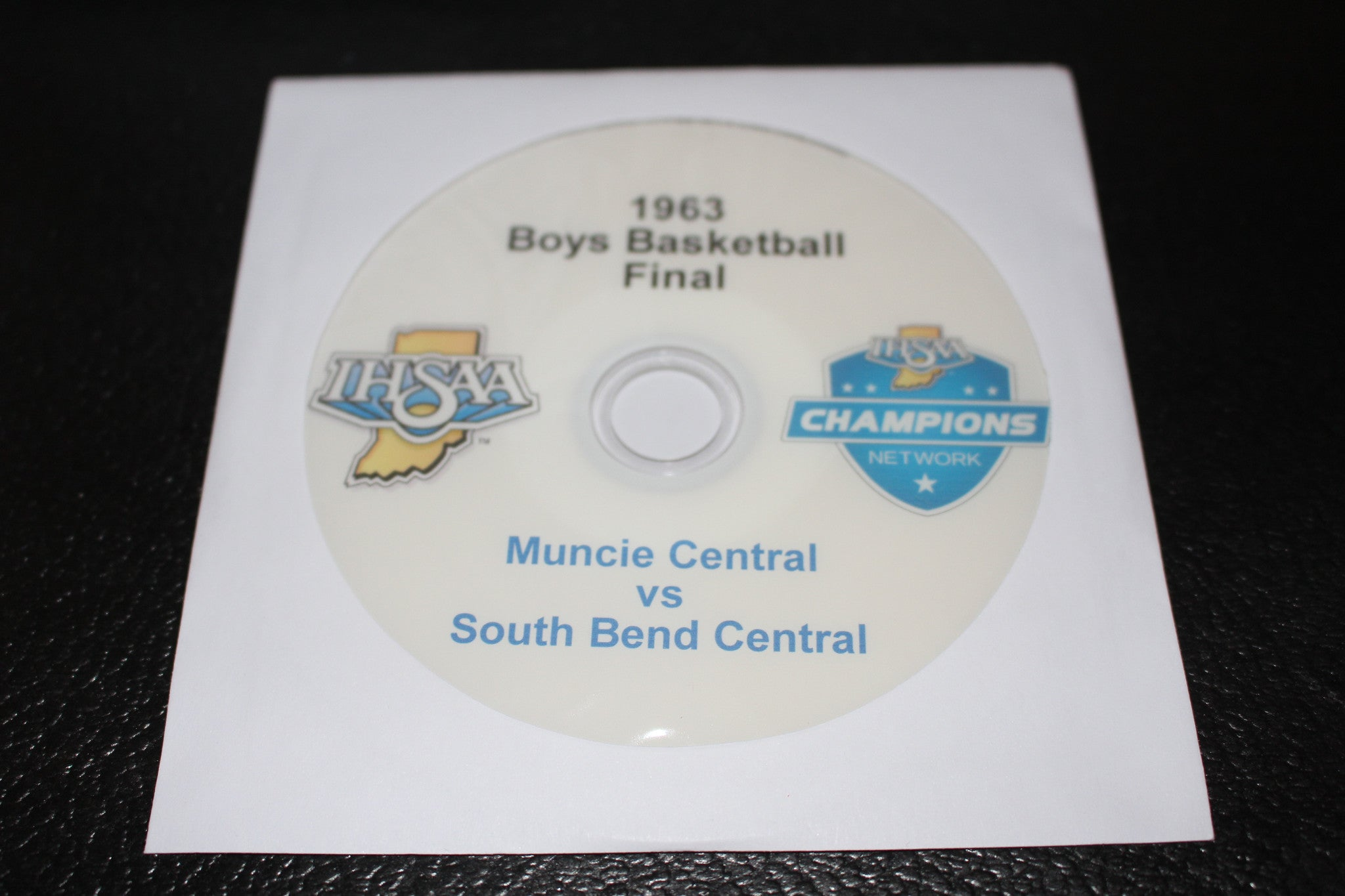 1963 Indiana High School Basketball Final DVD - Vintage Indy Sports