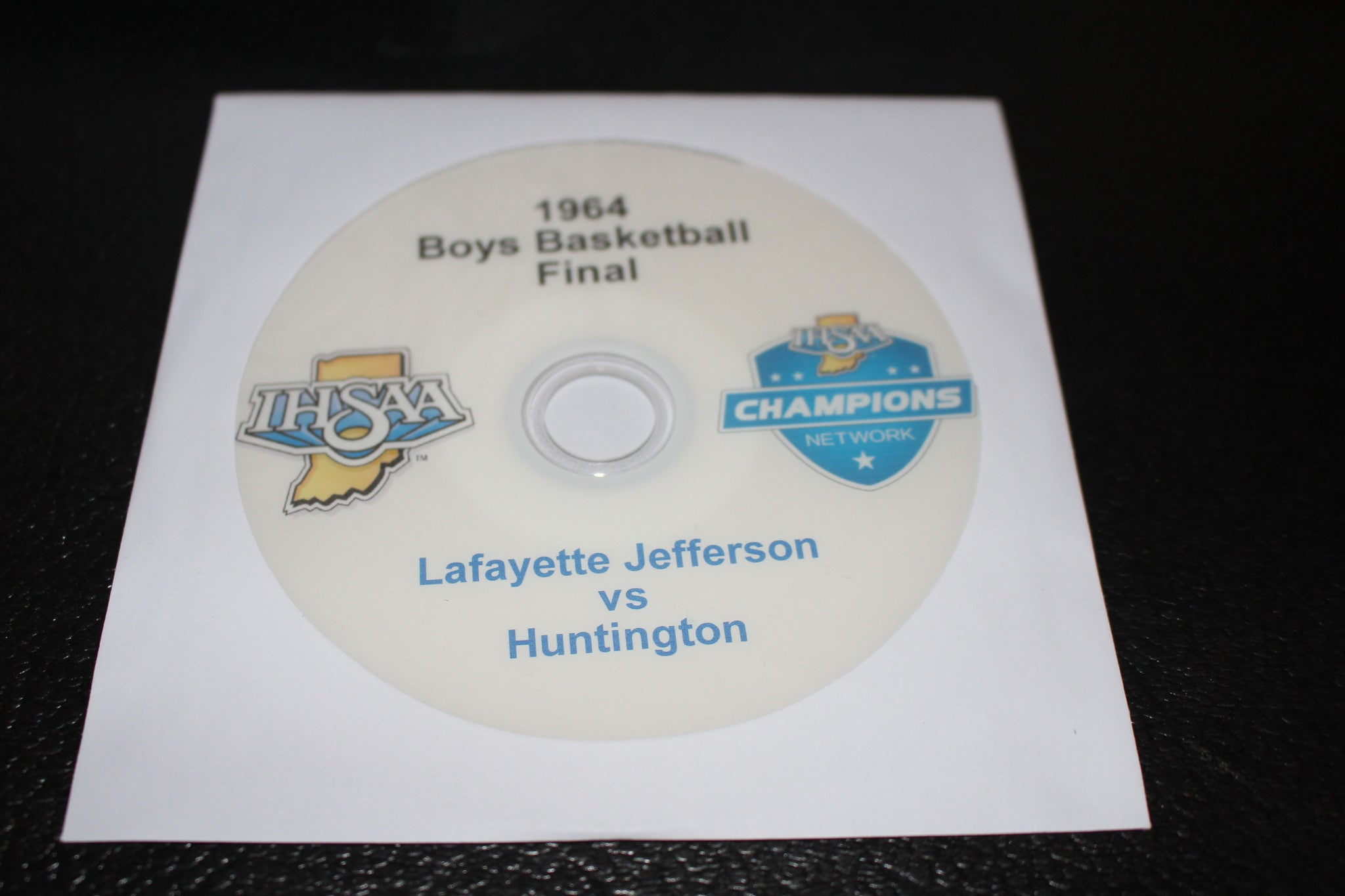 1964 Indiana High School Basketball Final DVD - Vintage Indy Sports