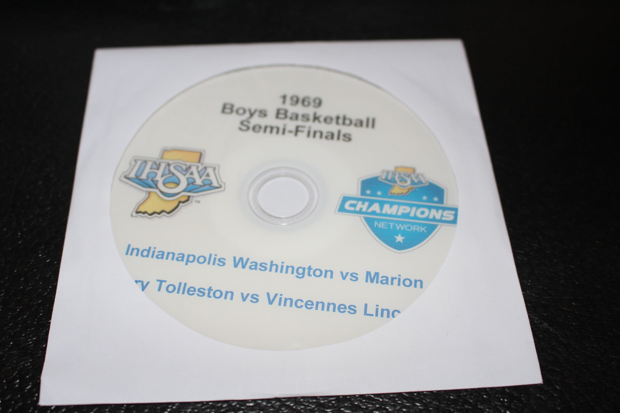 1969 Indiana High School Basketball State Semi Finals DVD - Vintage Indy Sports