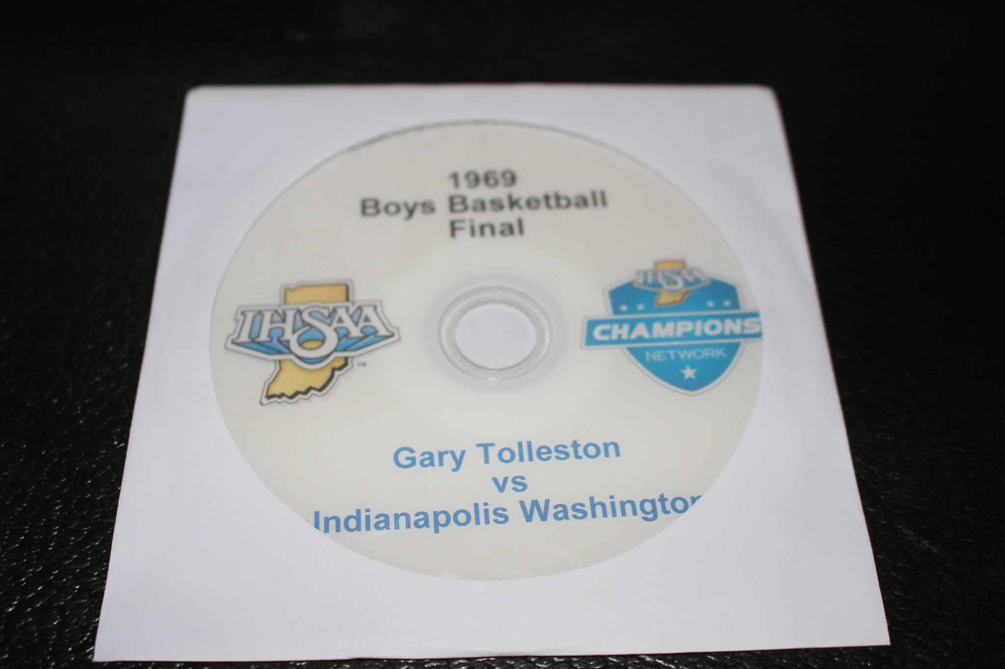 1969 Indiana High School Basketball State Championship DVD - Vintage Indy Sports