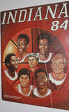 1984 Indiana University Basketball Yearbook - Vintage Indy Sports