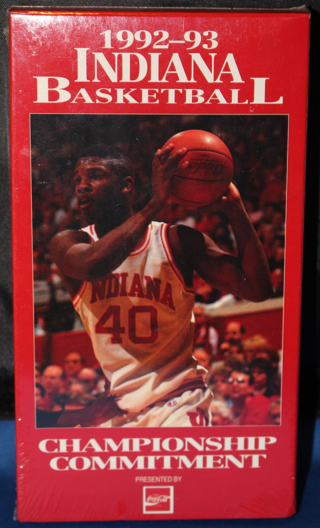 1992-93 Indiana Basketball Championship Committment VHS Video - Vintage Indy Sports