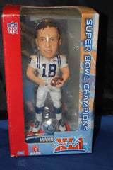 Peyton Manning Super Bowl XLI Bobblehead New in Box - Vintage Indy Sports