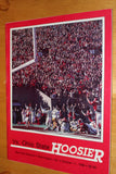 1986 Indiana vs Ohio State Football Program - Vintage Indy Sports