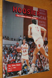 1989 Indiana University vs Ohio State Basketball Program - Vintage Indy Sports