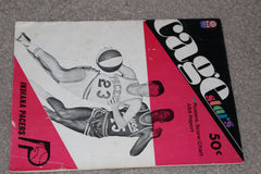 1967 Indiana Pacers Game Program