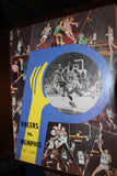 1971 Memphis Pro vs Indiana Pacers ABA Basketball Program - Vintage Indy Sports