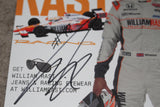 Dan Wheldon Autographed Indy Car Hero Card - Vintage Indy Sports