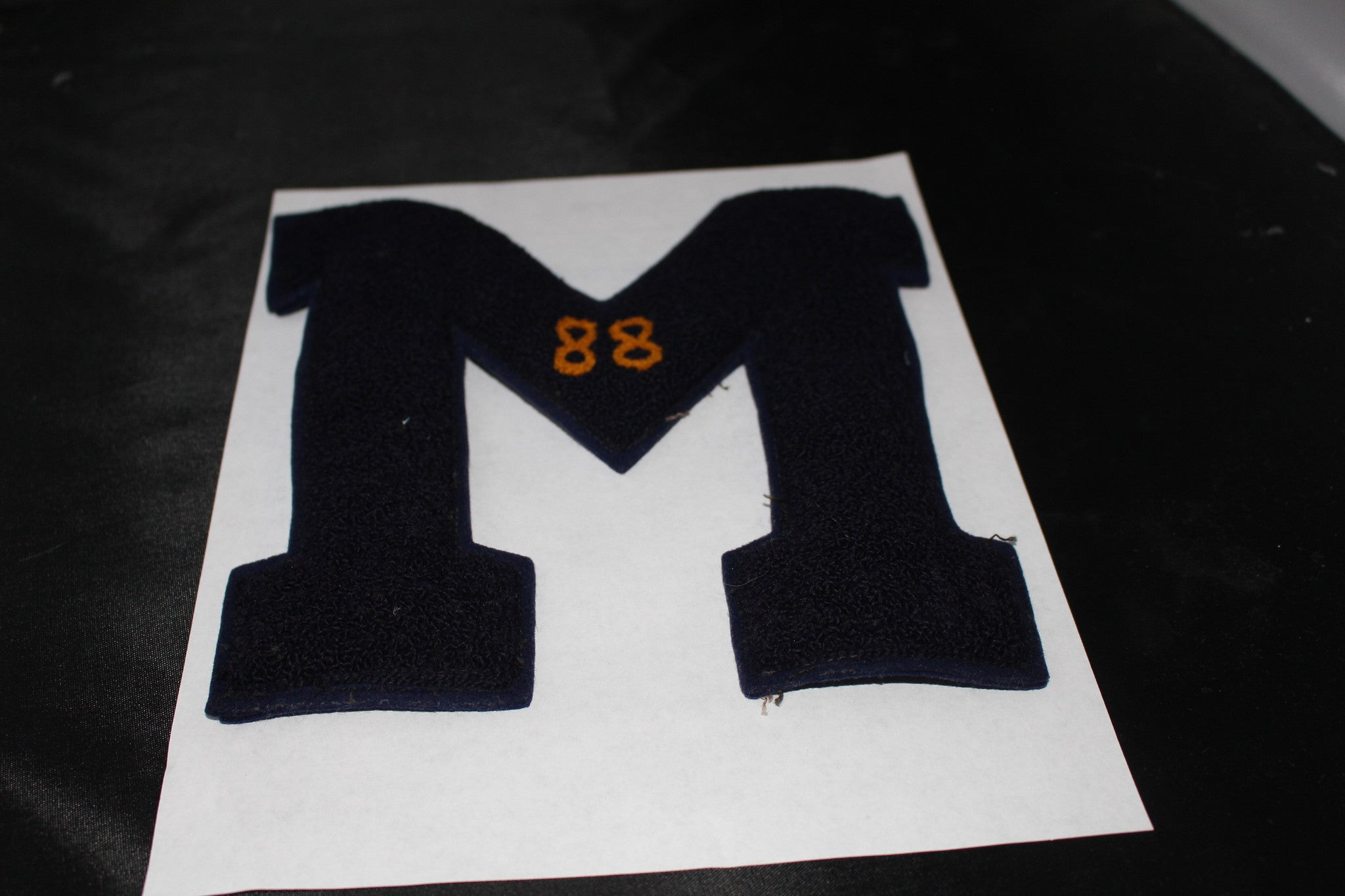 Vintage 1950's Marion, Indiana High School Football Letter - Vintage Indy Sports