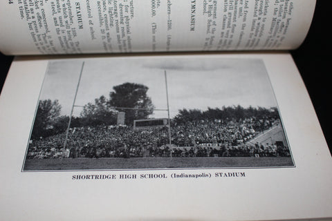 1938 Indiana High School Athletic Association Handbook
