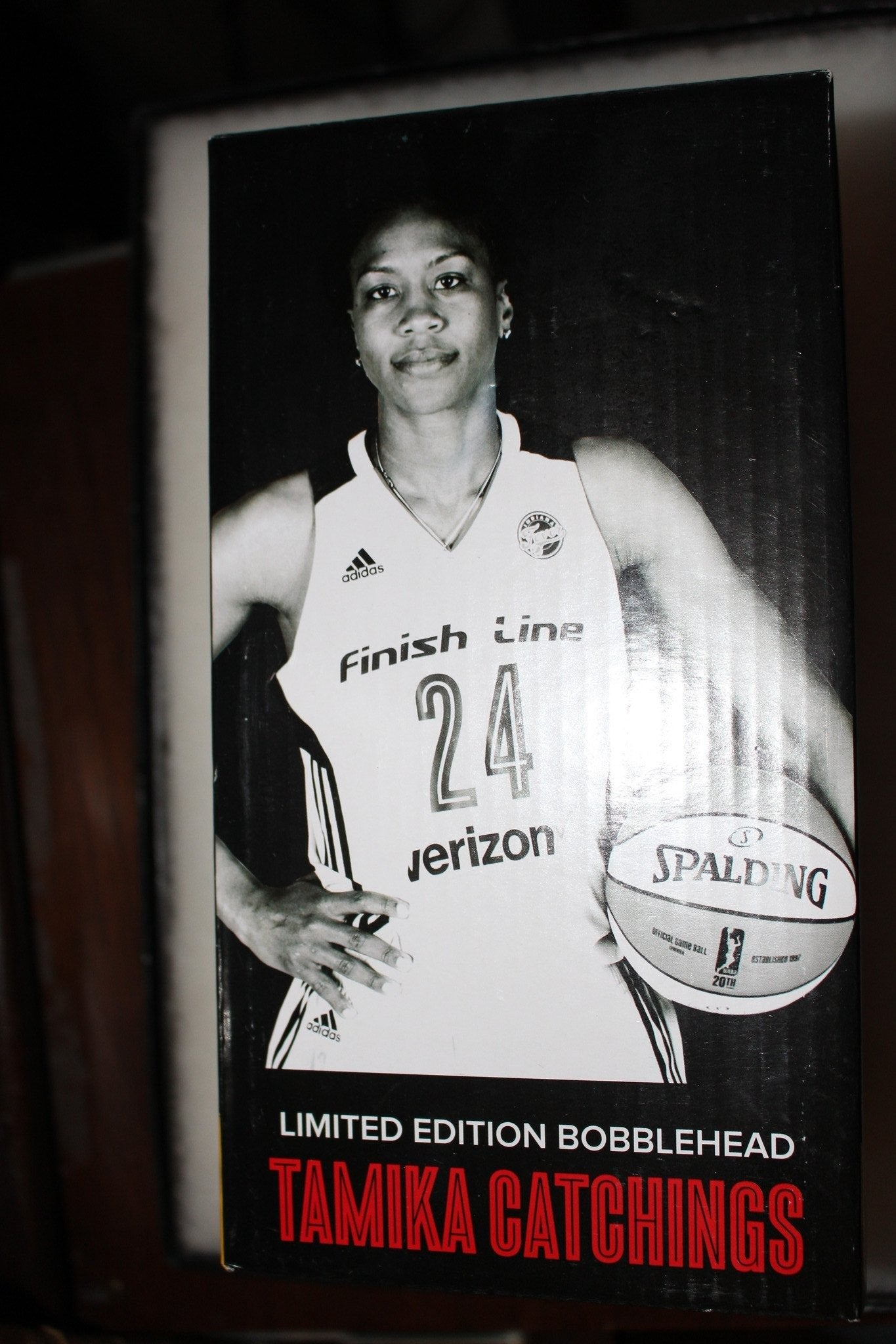 Tamika Catchings 2016 Bobblehead, New in Box - Vintage Indy Sports