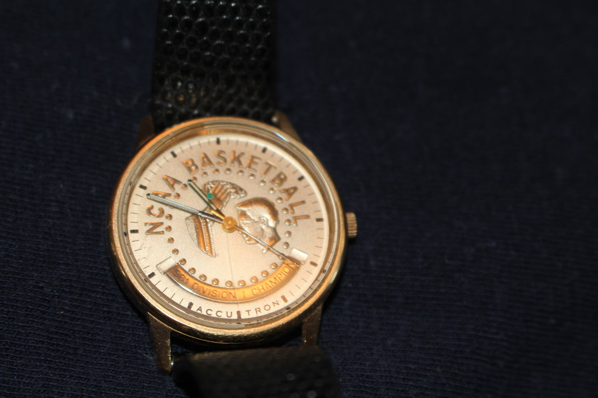 1981 Indiana University NCAA Championship Players Watch - Vintage Indy Sports