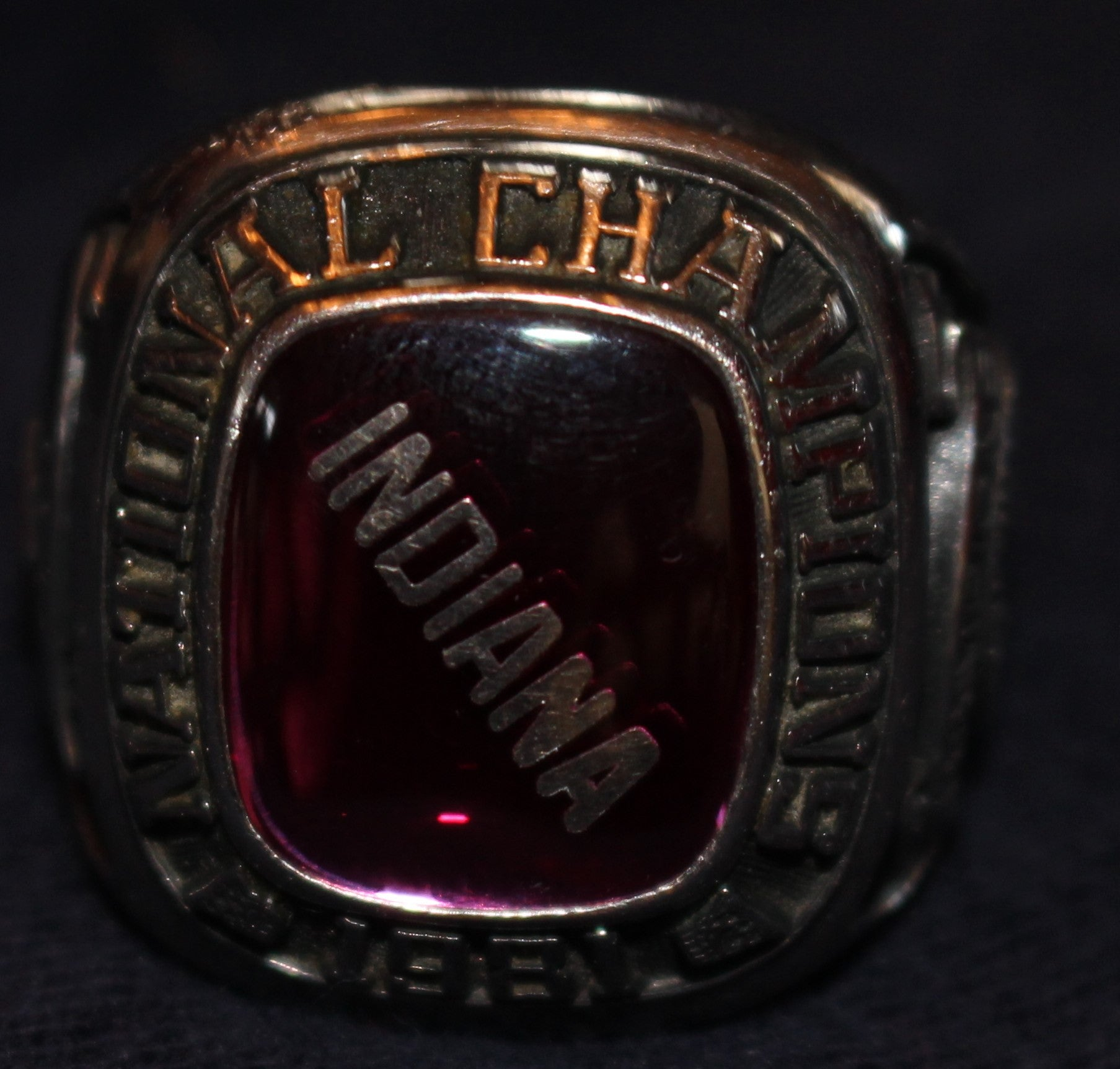 1981 Indiana University NCAA Champions Players Ring - Vintage Indy Sports
