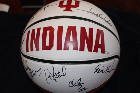 1981 Indiana University Basketball Team Signed Basketball