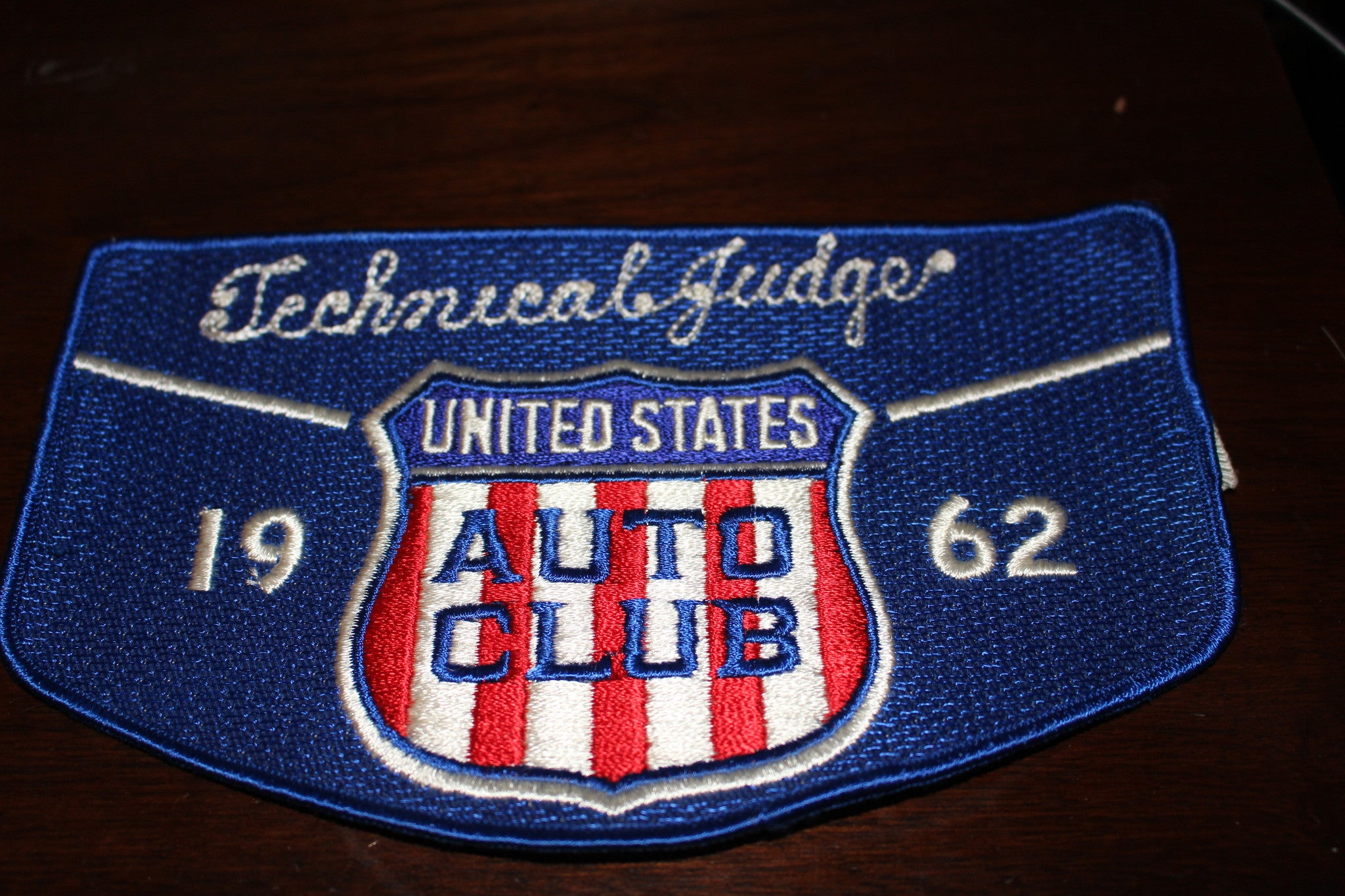 1962 Indianapolis 500 Technical Judge Arm Band - Vintage Indy Sports
