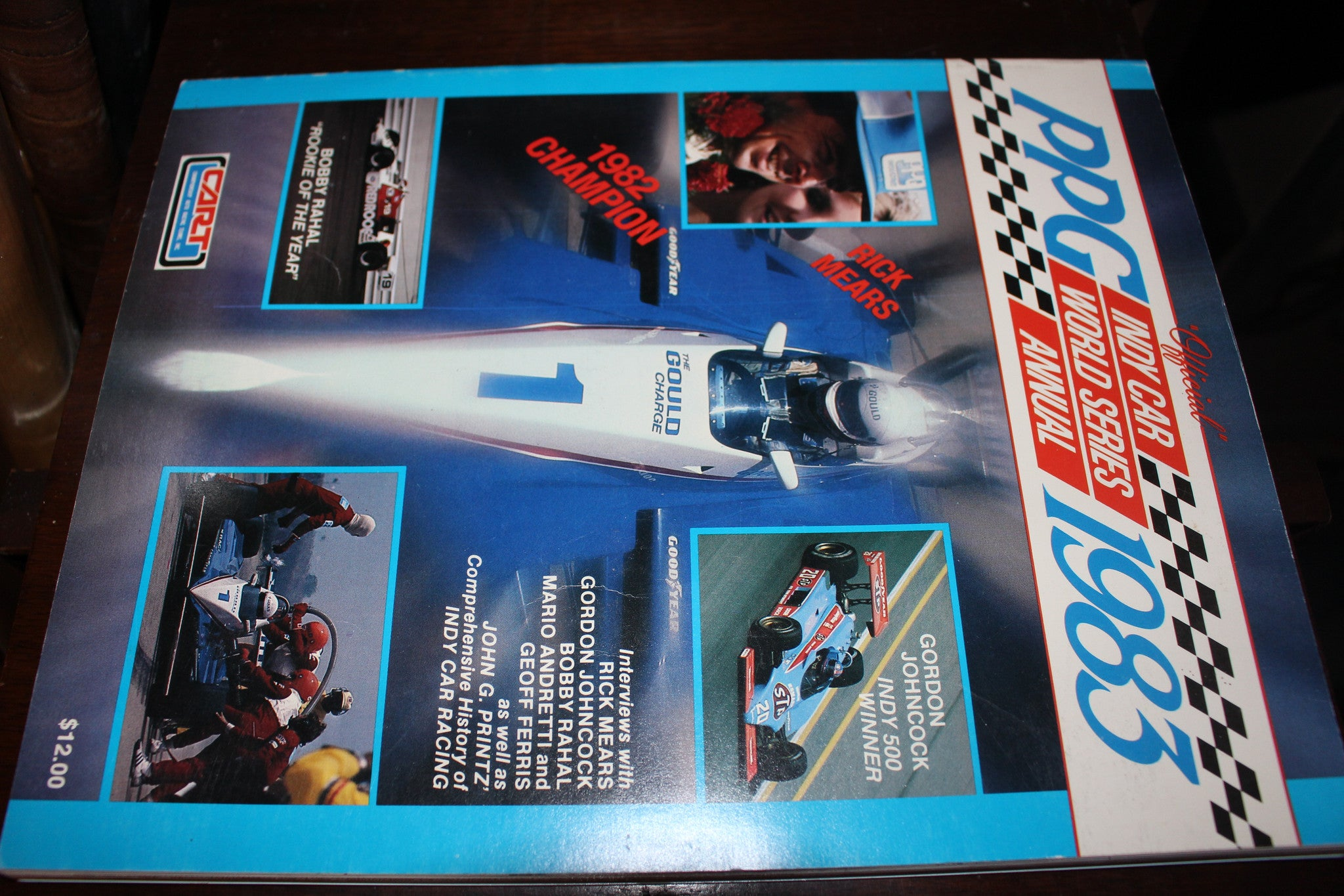 1983 PPG Indy Car World Series Annual CART - Vintage Indy Sports
