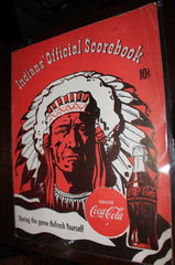 1948 Indianapolis Indians vs Louisville Minor League AAA Baseball Program - Vintage Indy Sports