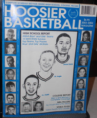 2003-04 Hoosier Basketball Magazine